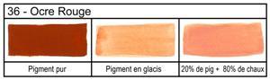 Les pigments ocres et terres le pigment est une - Couleur ocre rouge ...