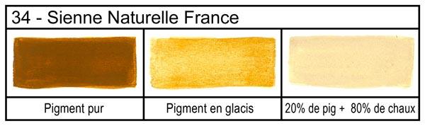 les pigments siennes le pigment est une substance color e naturelle ou artificielle dans la. Black Bedroom Furniture Sets. Home Design Ideas