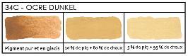 les pigments ocres et terres le pigment est une substance color e naturelle ou artificielle. Black Bedroom Furniture Sets. Home Design Ideas
